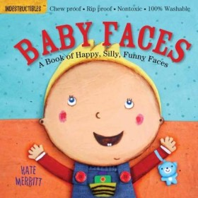 Indestructibles Baby Faces Book