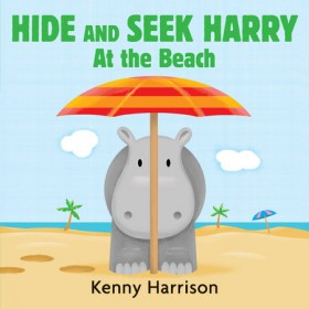 Hide and Seek Harry at the Beach Board Book