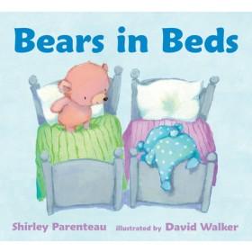 Bears In Beds Board Book