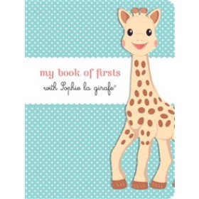 My Book of Firsts with Sophie la girafe Hardback Book