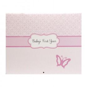 C.R. Gibson Baby's First Year Calendar - Bella