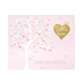 C.R. Gibson Baby's First Year Calendar - Little Love