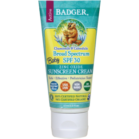 Badger Balm SPF 30 Baby Sunscreen Cream