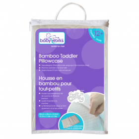 Baby Works Toddler Bamboo Pillow Case