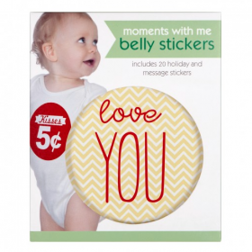 C.R. Gibson First Year Belly Stickers - Moments With Me