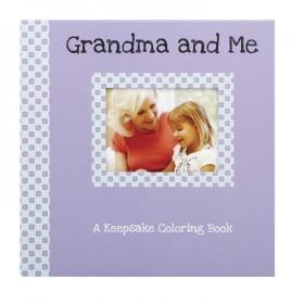 C.R. Gibson Keepsake Coloring Book - Grandma and Me