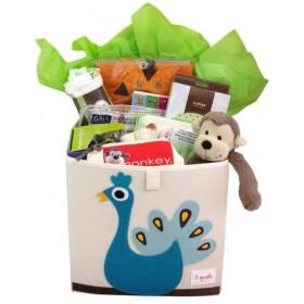 Cheeky Monkey New Baby Box Gift Basket