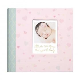 C.R. Gibson Slim Bound Photo Journal Album - Little Love
