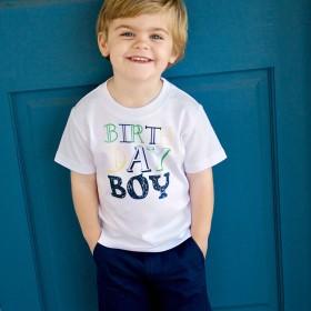 Rugged Butts Birthday Boy Short Sleeve Tee
