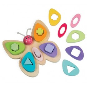 Janod Butterfly Shape Puzzle