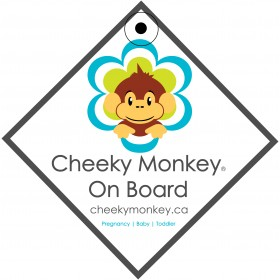 Cheeky Monkey On Board Signs