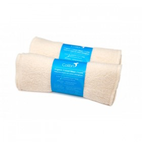 Colibri Organic Cotton Sherpa Wash Cloths