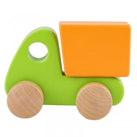 Hape Toys Little Green Dump Truck