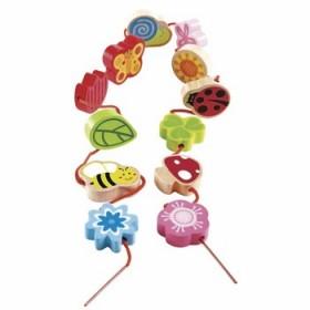 Hape Toys Lacing Spring Qubes