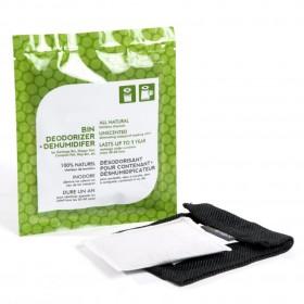 Ever Bamboo - Natural Bamboo Charcoal Bin Deodorizer & Dehumidifier
