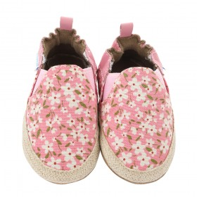 Robeez Pink Floral Mania Soft Soles