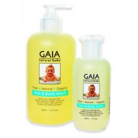 GAIA Skin Naturals Baby Hair & Body Wash