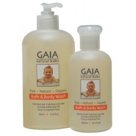 GAIA Skin Naturals Baby Bath & Body Wash