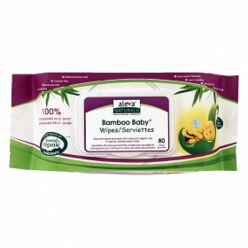 Aleva Naturals Bamboo Wipes Value Pack