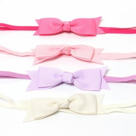 Babies and Bows Lia Preppy Bow Headband