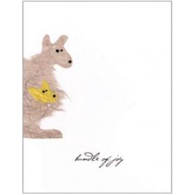 "Flaunt Cards ""Bundle Of Joy"" Kangaroo"
