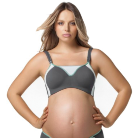 Cake Maternity Lemon Zest Pro Impact Flexi-Wire Nursing Sports Bra