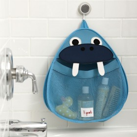 3 Sprouts Bath Storage Walrus