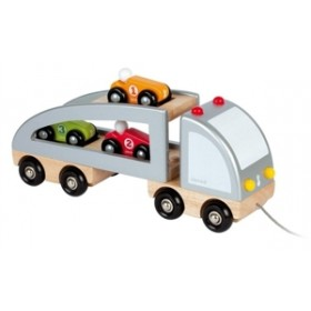 Janod Multi-Cars Truck
