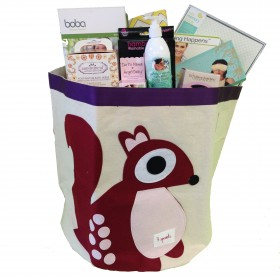 Cheeky Monkey New Mom Bin Gift Basket