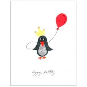 "Flaunt Cards ""Happy Birthday"" Penguin"