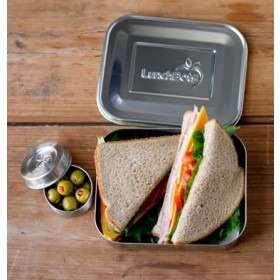 LunchBots Uno Stainless Steel Sandwich Lunch Container