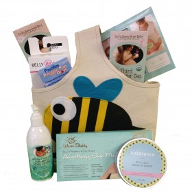 Cheeky Monkey Pregnancy Caddy Gift Basket