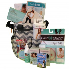 Cheeky Monkey Pregnancy Diaper Bag Gift Basket