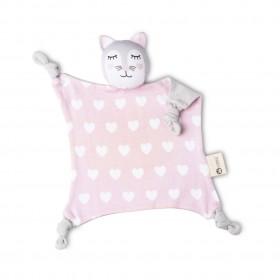 Kippins Kitty Organic Comfort Toy