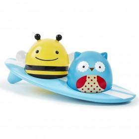 Skip Hop Zoo Light-Up Surfers Bath Toy