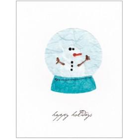 "Flaunt Cards ""Happy Holidays"" Snow Globe"