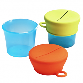 Boon Snug Snack Universal Silicone Snack Lids