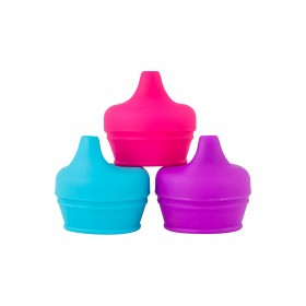 Boon Snug Spout Universal Silicone Sippy Lids