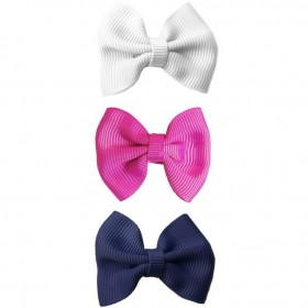 Baby Wisp Small Snap Classic Bow - Back to School