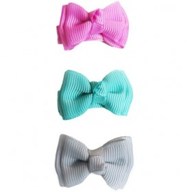 Baby Wisp Small Snap Trendy Twist Bows - Daydream