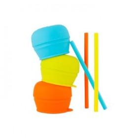 Boon Snug Straw Universal Silicone Straw Lids