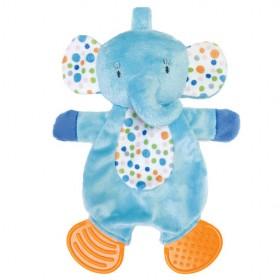 Manhattan Toy Teether Elephant Blankie