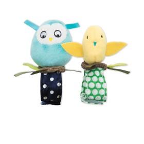 Manhattan Toy Bitty Birds Wrist Rattle Set