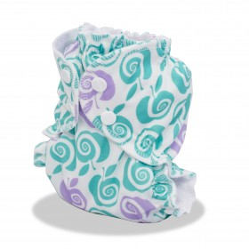 AppleCheeks Diaper Cover - Size 1 (7-20lbs) - To The Core