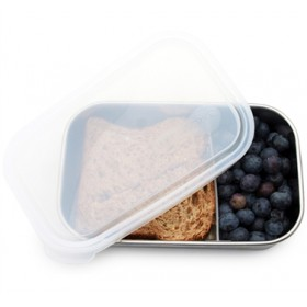 Kids Konserve Rectangle Container With Divider
