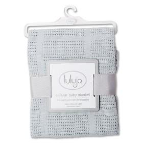 Lulujo Cellular Baby Blanket
