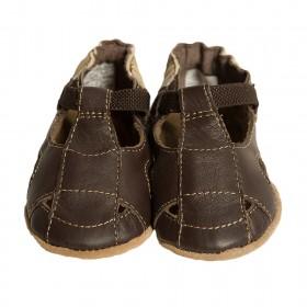 Robeez Brown Fisherman Sandal Soft Soles