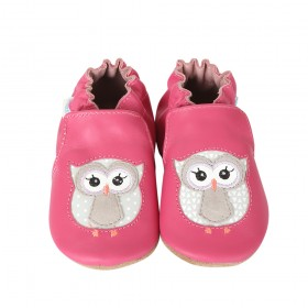 Robeez Owl Playmates Soft Soles