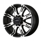 American Racing AR70829013500 - AR708 - Matte Black with Machined Face (5x135 / 5X135)