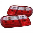 Anzo 221162 - Tail Lights - G2 - Red/Clear (w/o LED)